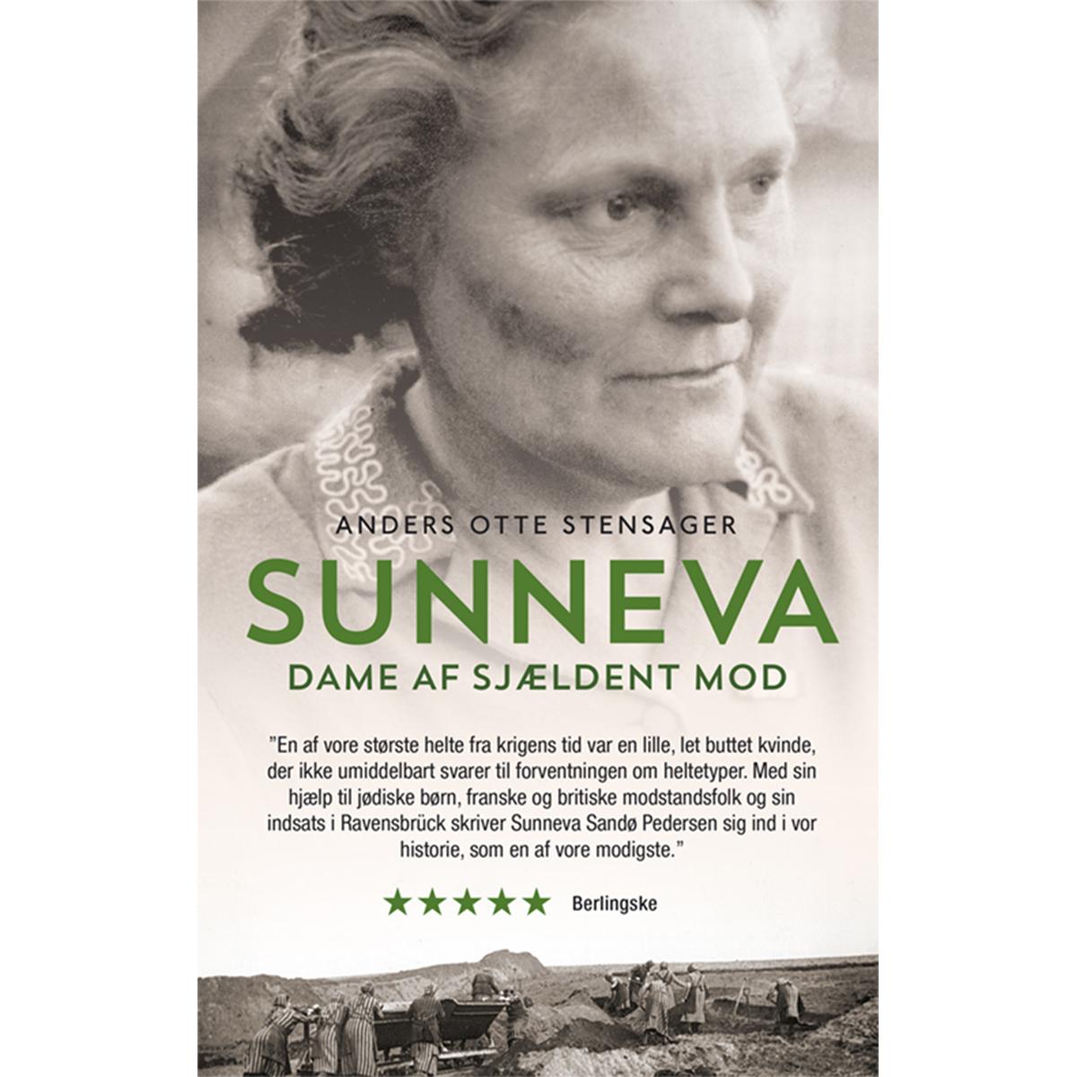 Sunneva - dame af sjældent mod - Paperback