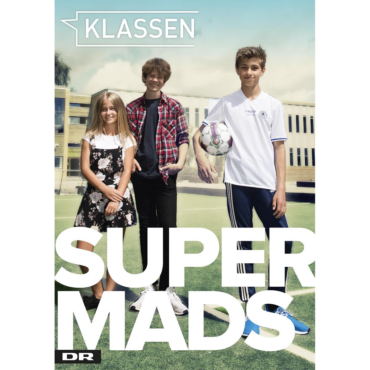 Image of   Super Mads - Klassen 1 - Indbundet