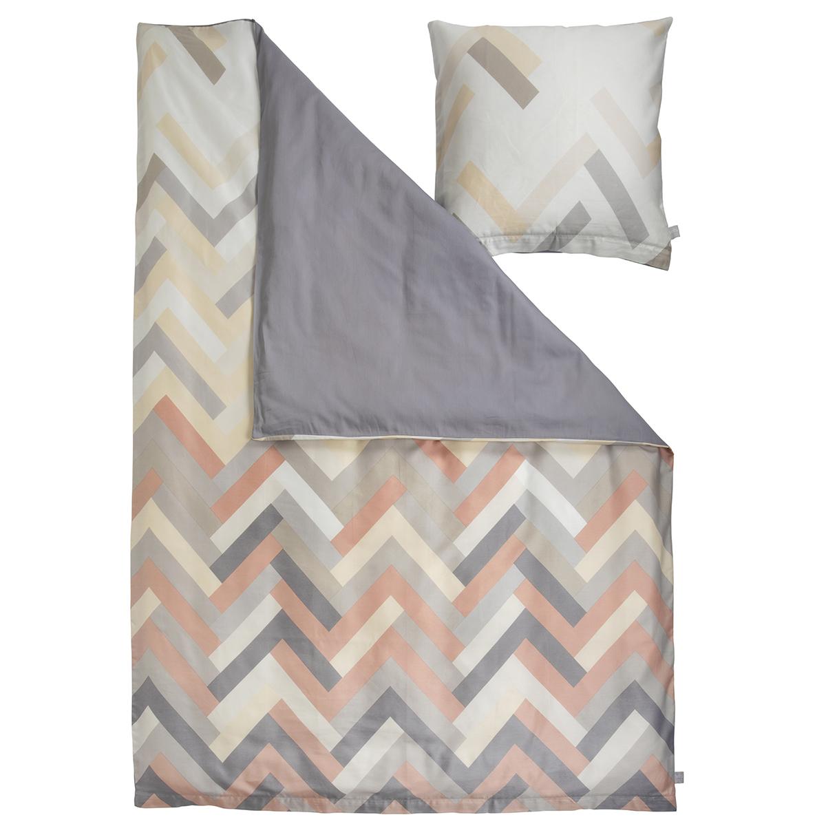 Billede af Susanne Schjerning sengetøj - Herringbone - Sand