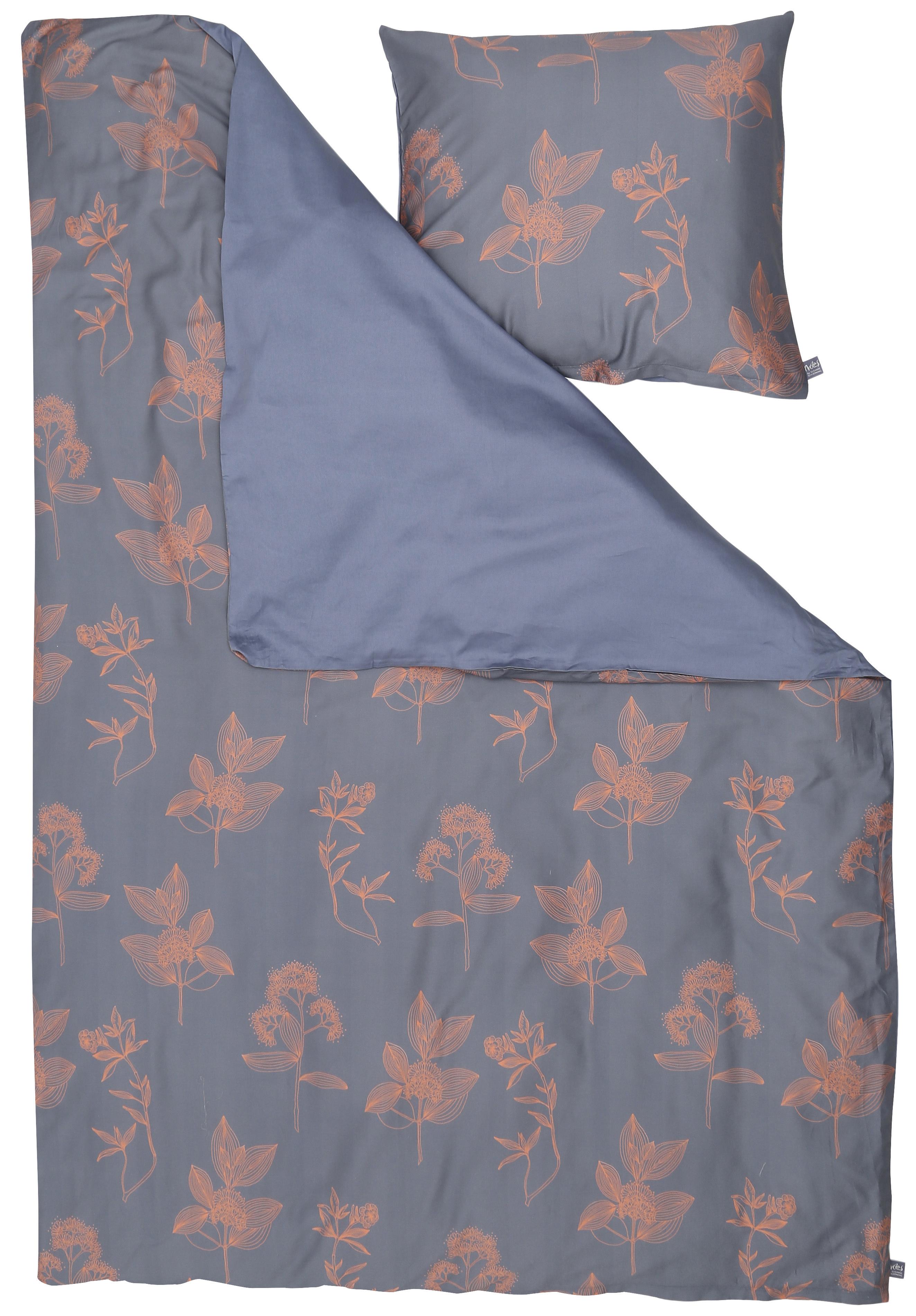 Billede af Susanne Schjerning sengetøj - Ixora - Indigo