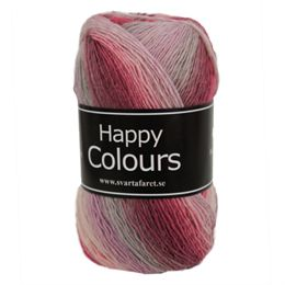 Svarta Fåret garn – Happy Colours – 100 g