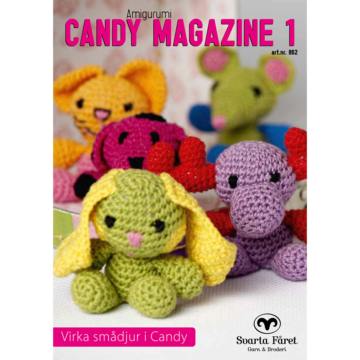Image of   Svarta Fåret opskriftshæfte - Candy Magazine 1 - Dyr
