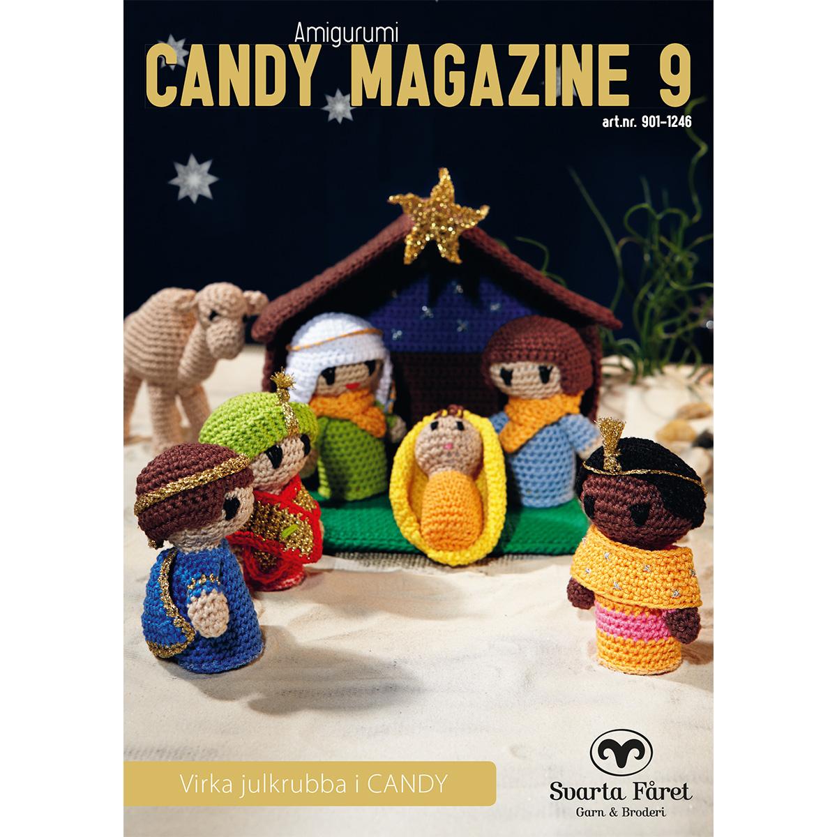 Image of   Svarta Fåret opskriftshæfte - Candy Magazine 10 - Julekrybbespil