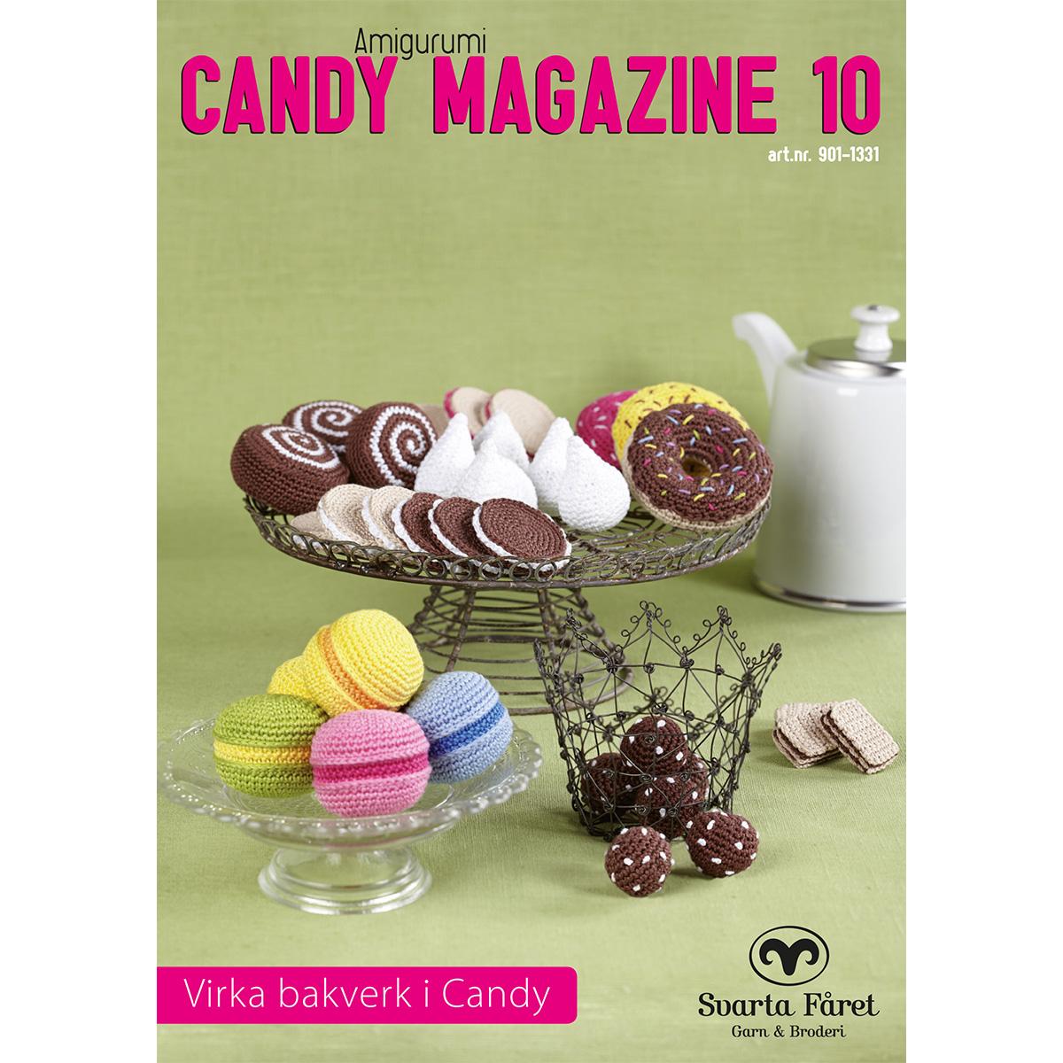 Image of   Svarta Fåret opskriftshæfte - Candy Magazine 10 - Kager