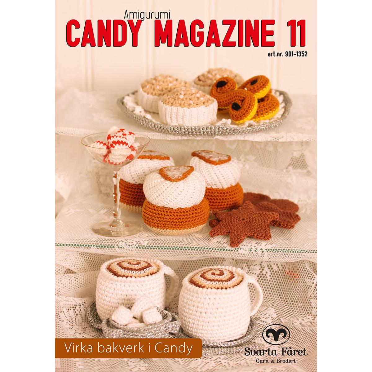 Image of   Svarta Fåret opskriftshæfte - Candy Magazine 11 - Kaffe & kage