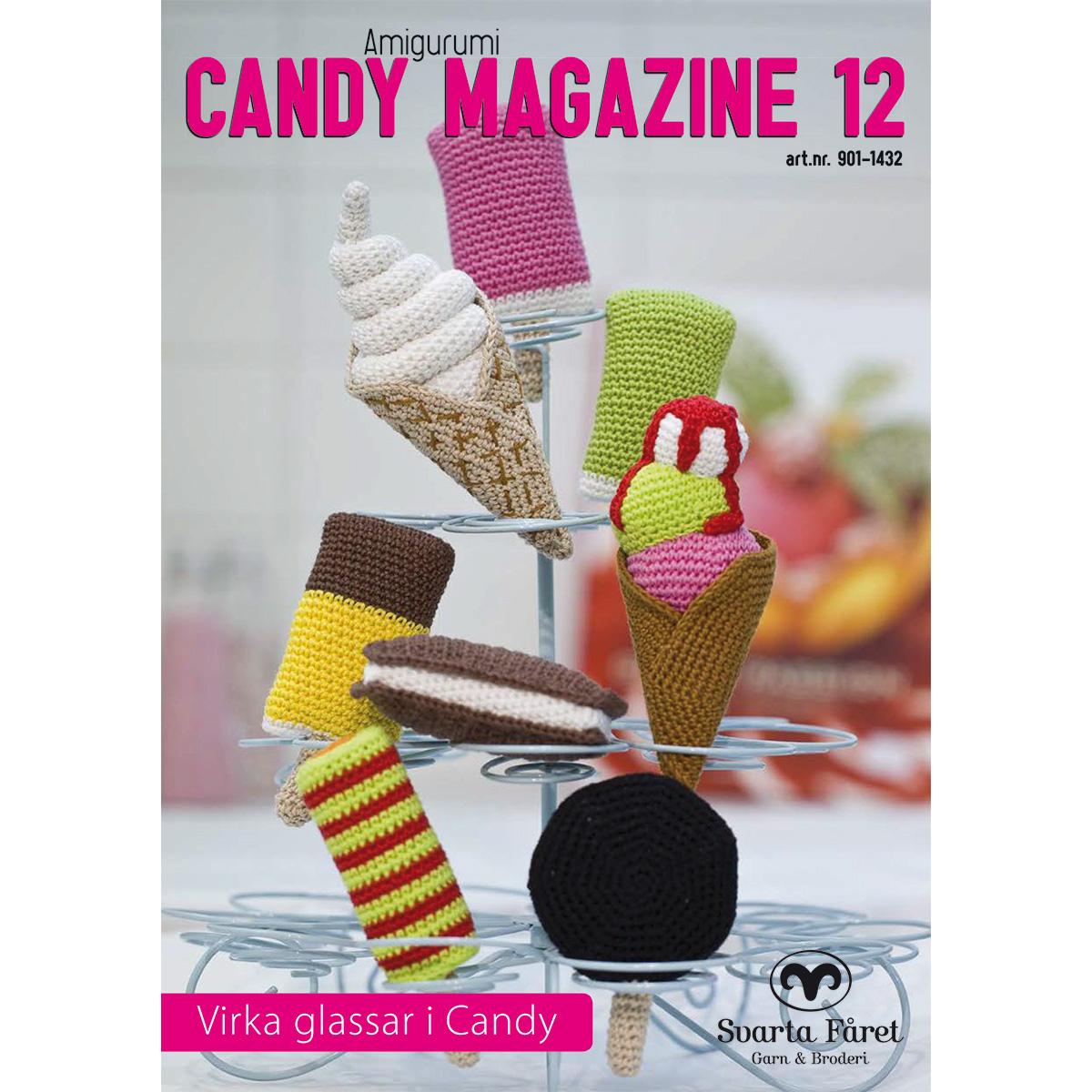 Image of   Svarta Fåret opskriftshæfte - Candy Magazine 12 - Is