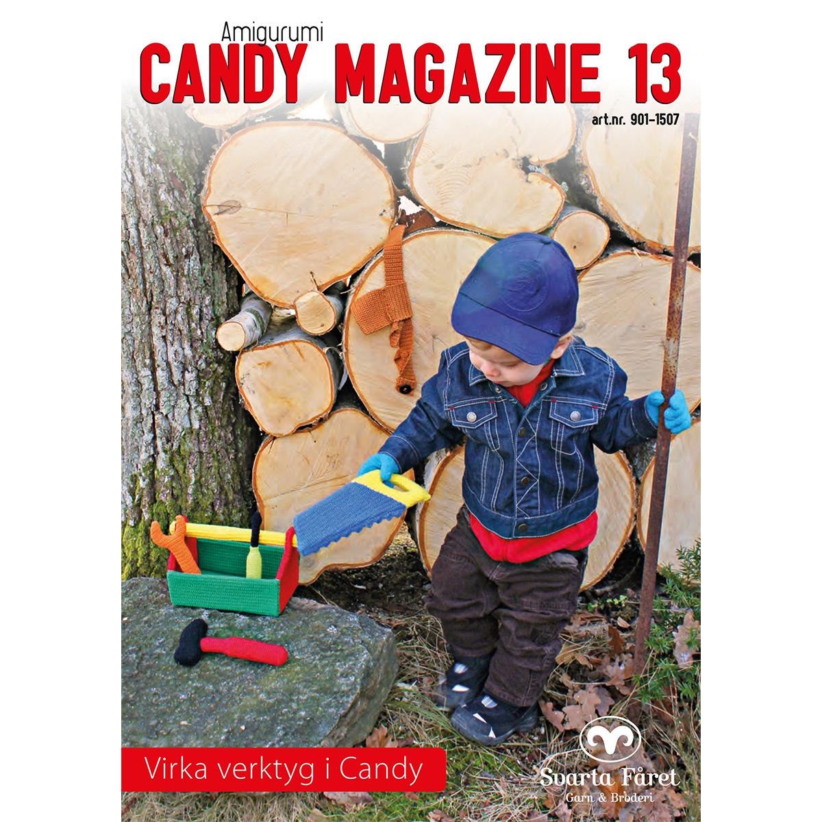 Image of   Svarta Fåret opskriftshæfte - Candy Magazine 13 - Værktøj