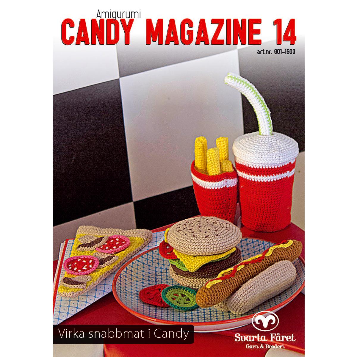 Image of   Svarta Fåret opskriftshæfte - Candy Magazine 14 - Junkfood