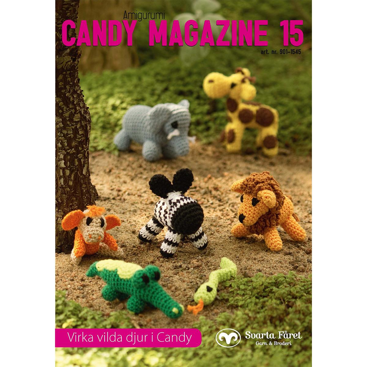 Image of   Svarta Fåret opskriftshæfte - Candy Magazine 15 - Vilde dyr