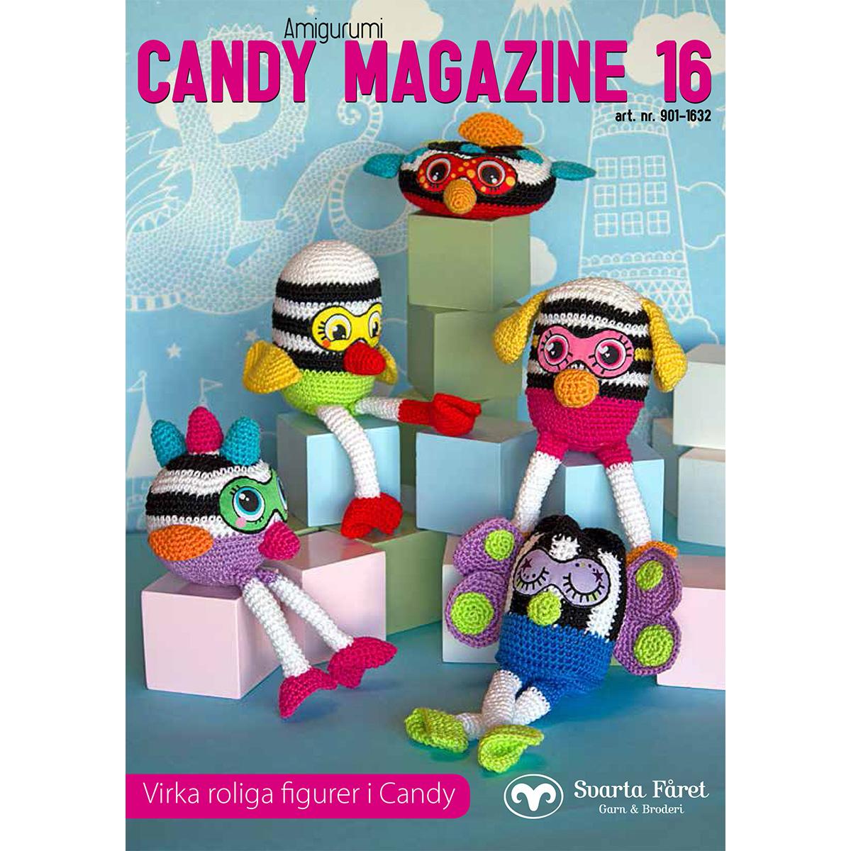 Image of   Svarta Fåret opskriftshæfte - Candy Magazine 16 - Fantasifigurer
