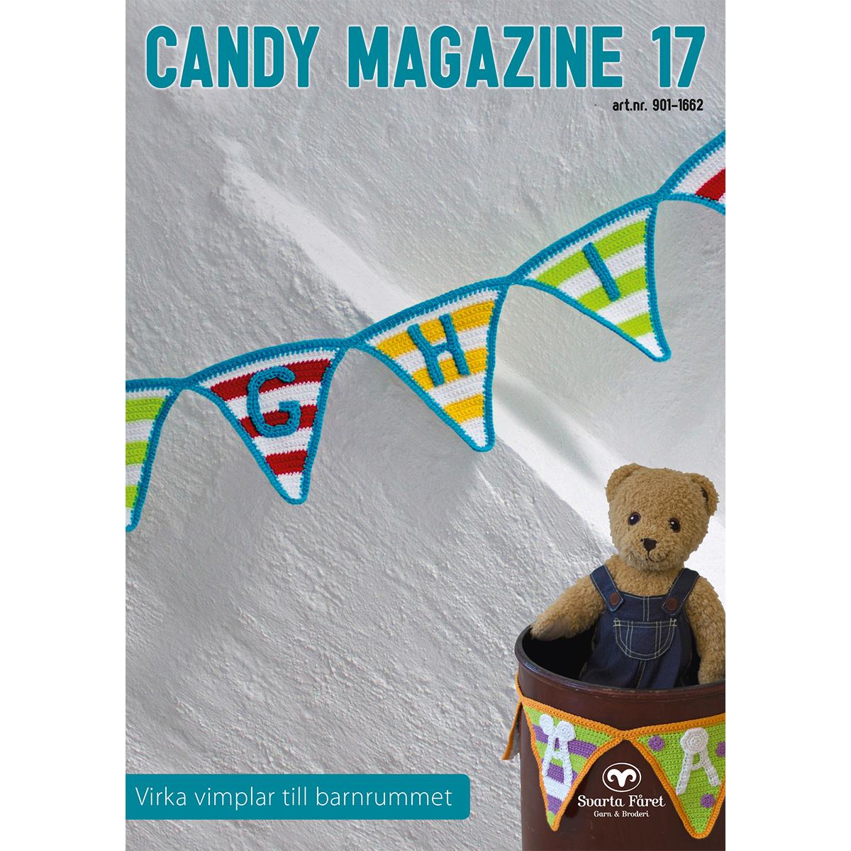 Image of   Svarta Fåret opskriftshæfte - Candy Magazine 17 - Vimpler