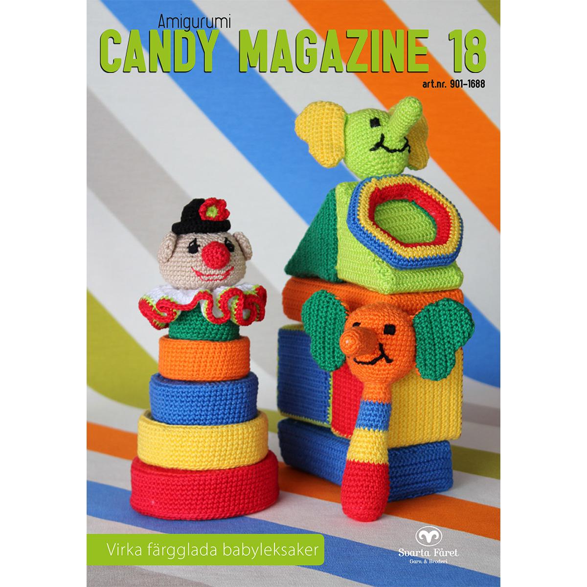 Image of   Svarta Fåret opskriftshæfte - Candy Magazine 18 - Babylegetøj
