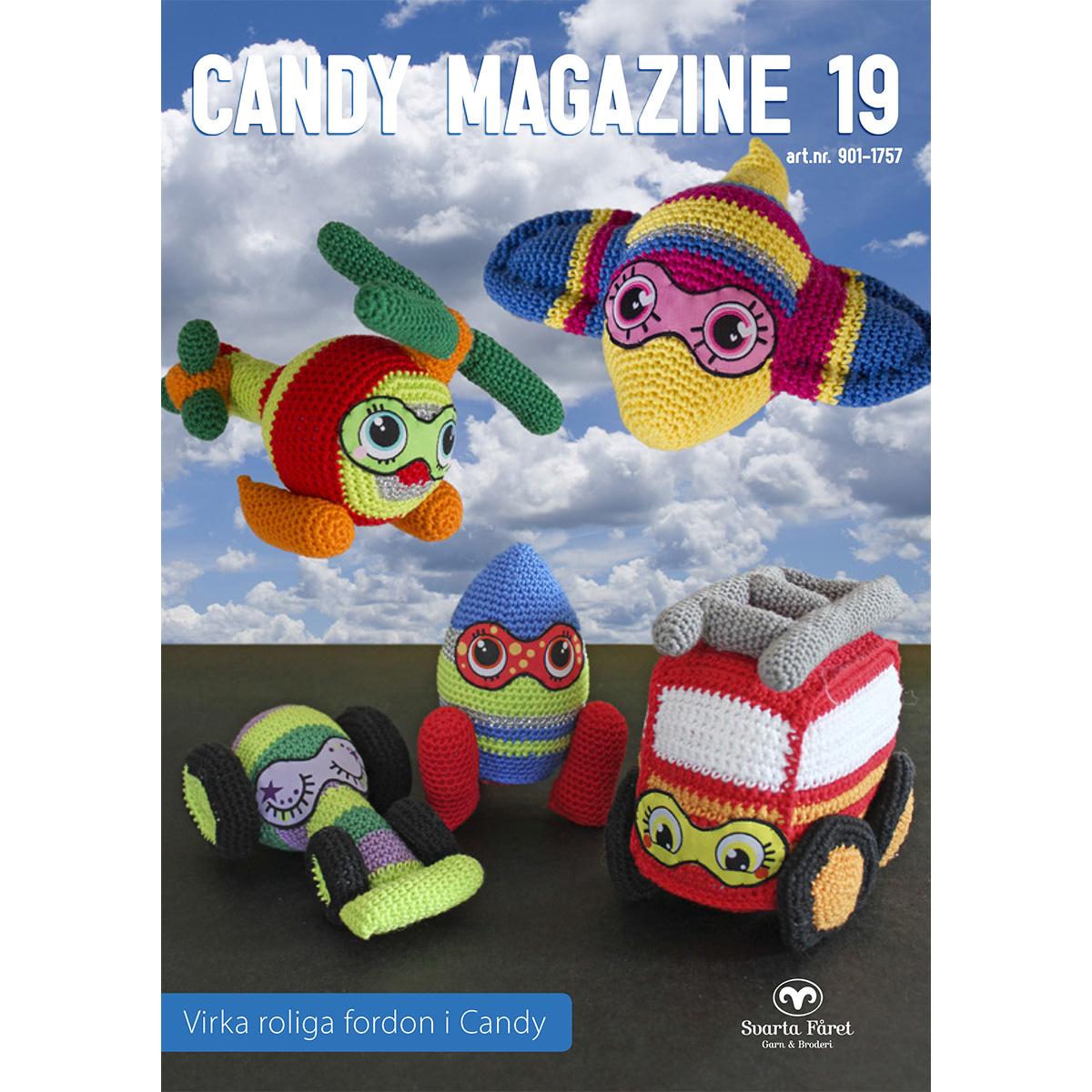Image of   Svarta Fåret opskriftshæfte - Candy Magazine 19 - Transportmidler