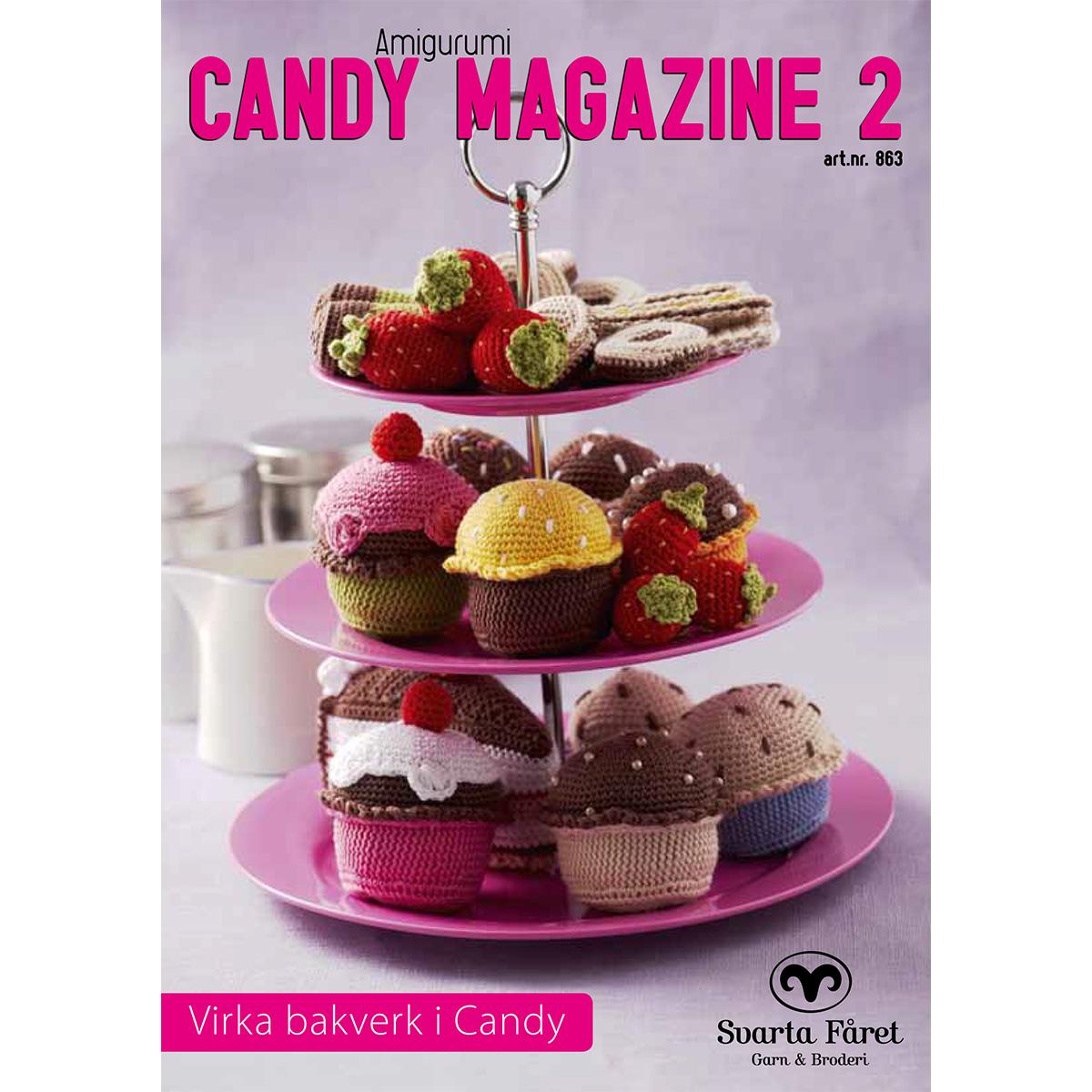 Image of   Svarta Fåret opskriftshæfte - Candy Magazine 2 - Kager