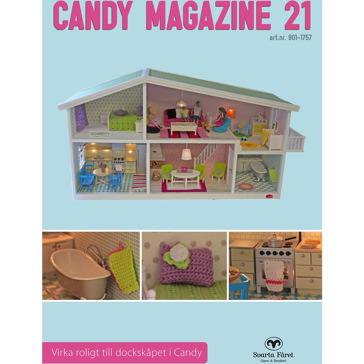 Image of   Svarta Fåret opskriftshæfte - Candy Magazine 21 - Dukkehustilbehør