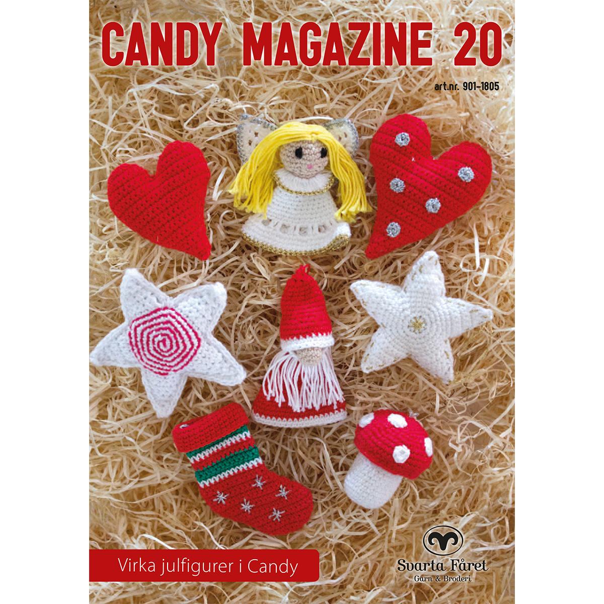Image of   Svarta Fåret opskriftshæfte - Candy Magazine 21 - Juleophæng