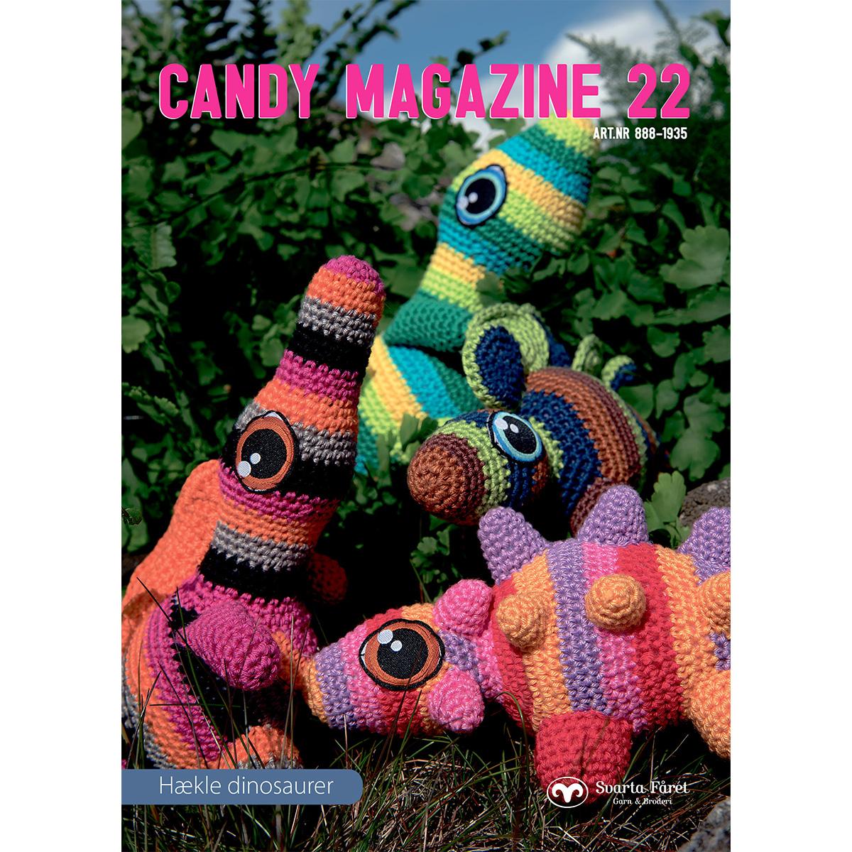 Image of   Svarta Fåret opskriftshæfte - Candy Magazine 22 - Dinosaurer