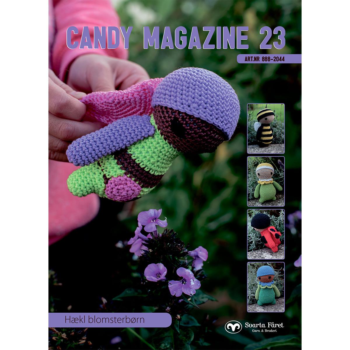 Image of   Svarta Fåret opskriftshæfte - Candy Magazine 23 - Dyr og figurer