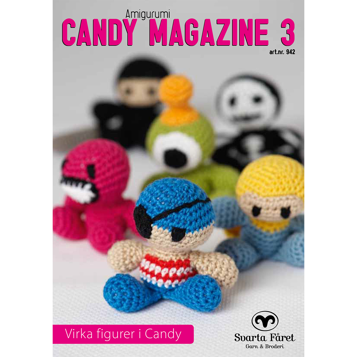 Image of   Svarta Fåret opskriftshæfte - Candy Magazine 3 - Fantasifigurer