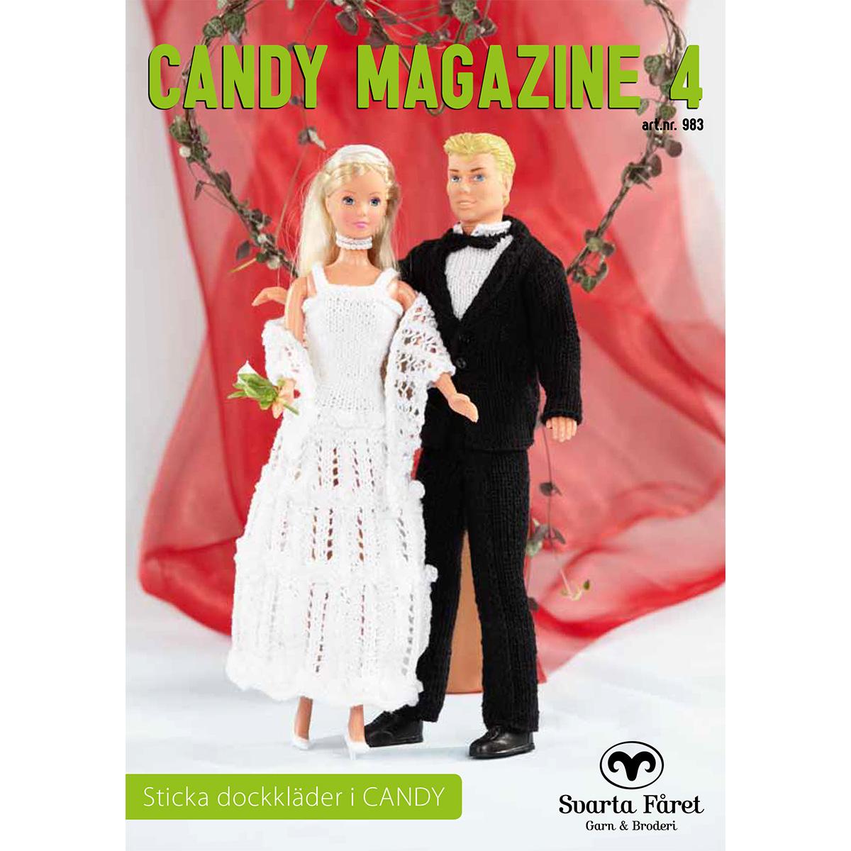 Image of   Svarta Fåret opskriftshæfte - Candy Magazine 4 - Dukketøj & tilbehør