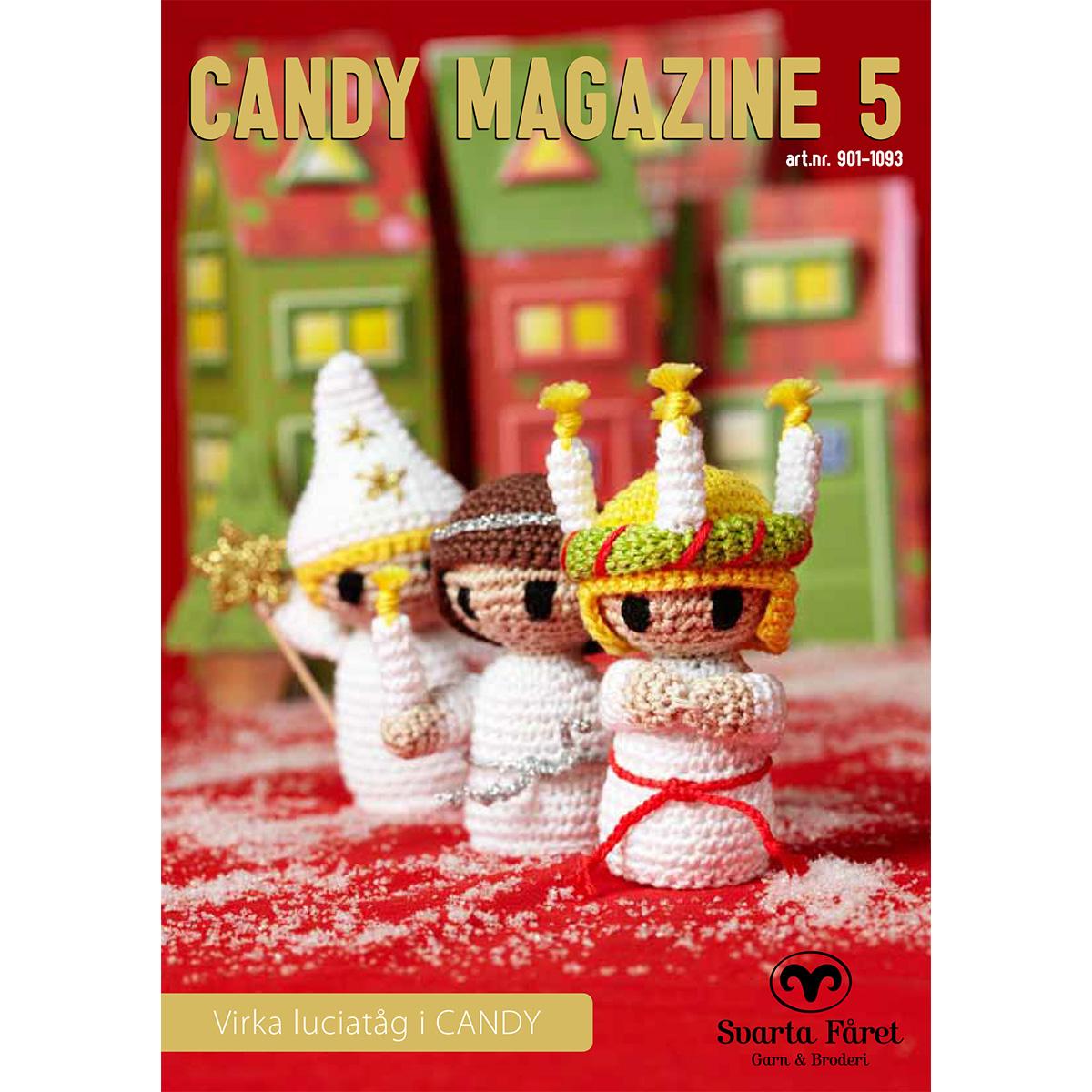Image of   Svarta Fåret opskriftshæfte - Candy Magazine 5 - Julepynt