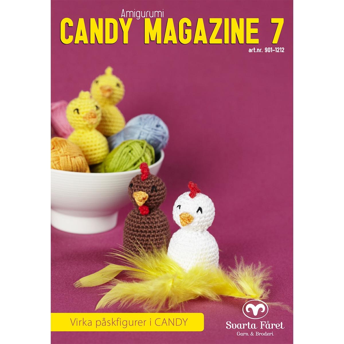Image of   Svarta Fåret opskriftshæfte - Candy Magazine 7 - Påskepynt