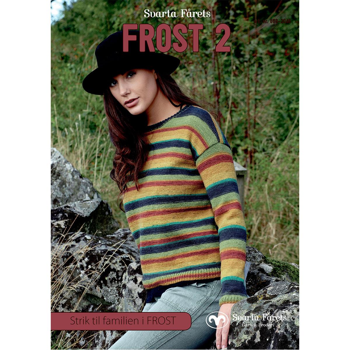 Image of   Svarta Fåret opskriftshæfte - Frost 2 - Tøj til hele familien