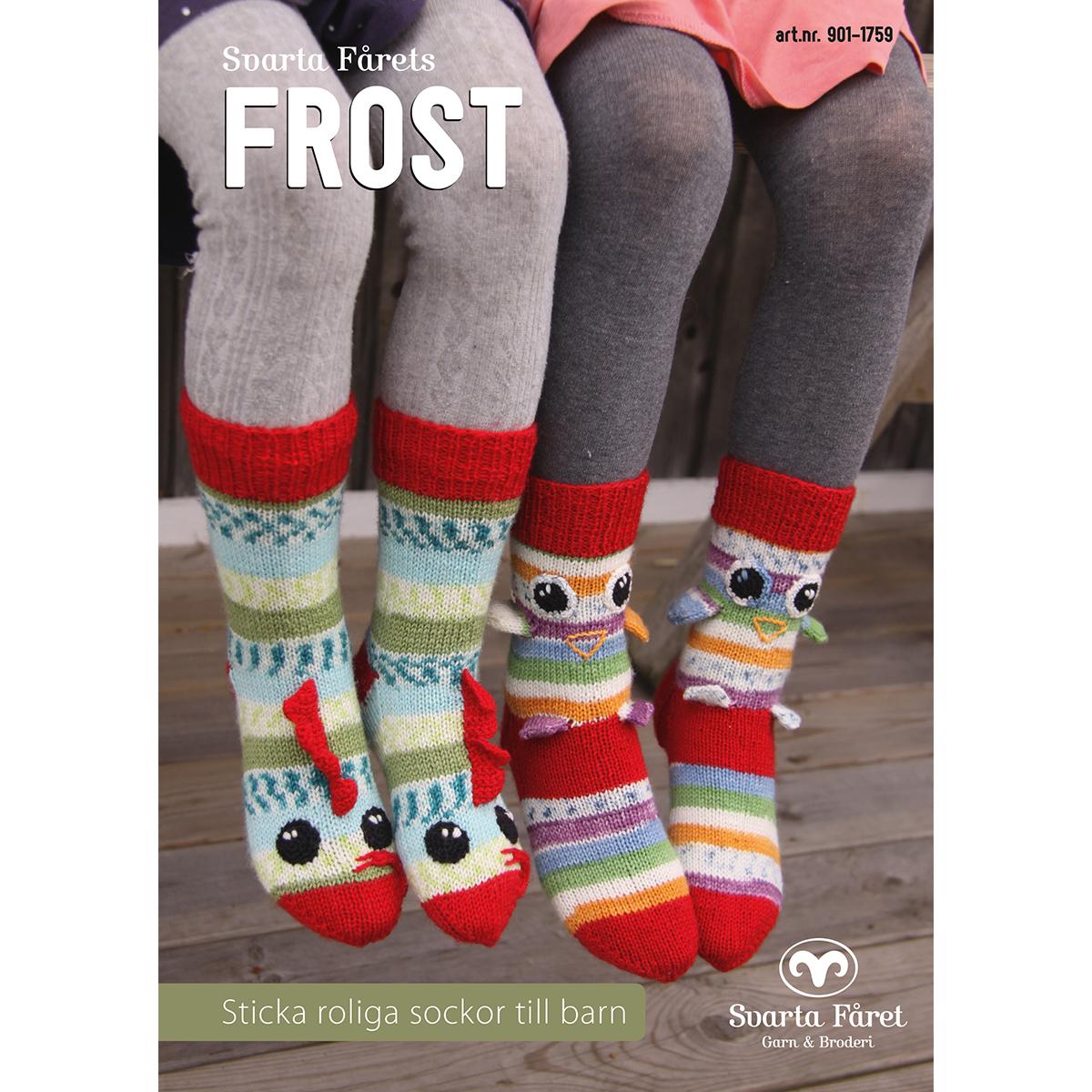 Image of   Svarta Fåret opskriftshæfte - Frost - Børnesokker