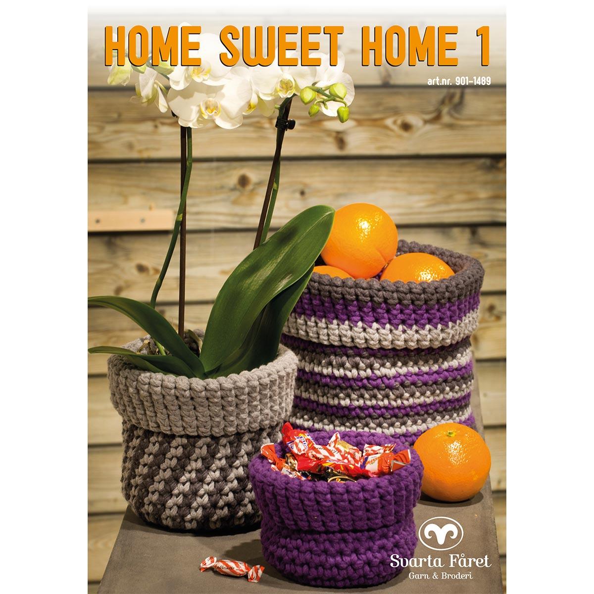 Image of   Svarta Fåret opskriftshæfte - Home Sweet Home 1 - Interiør til hjemmet