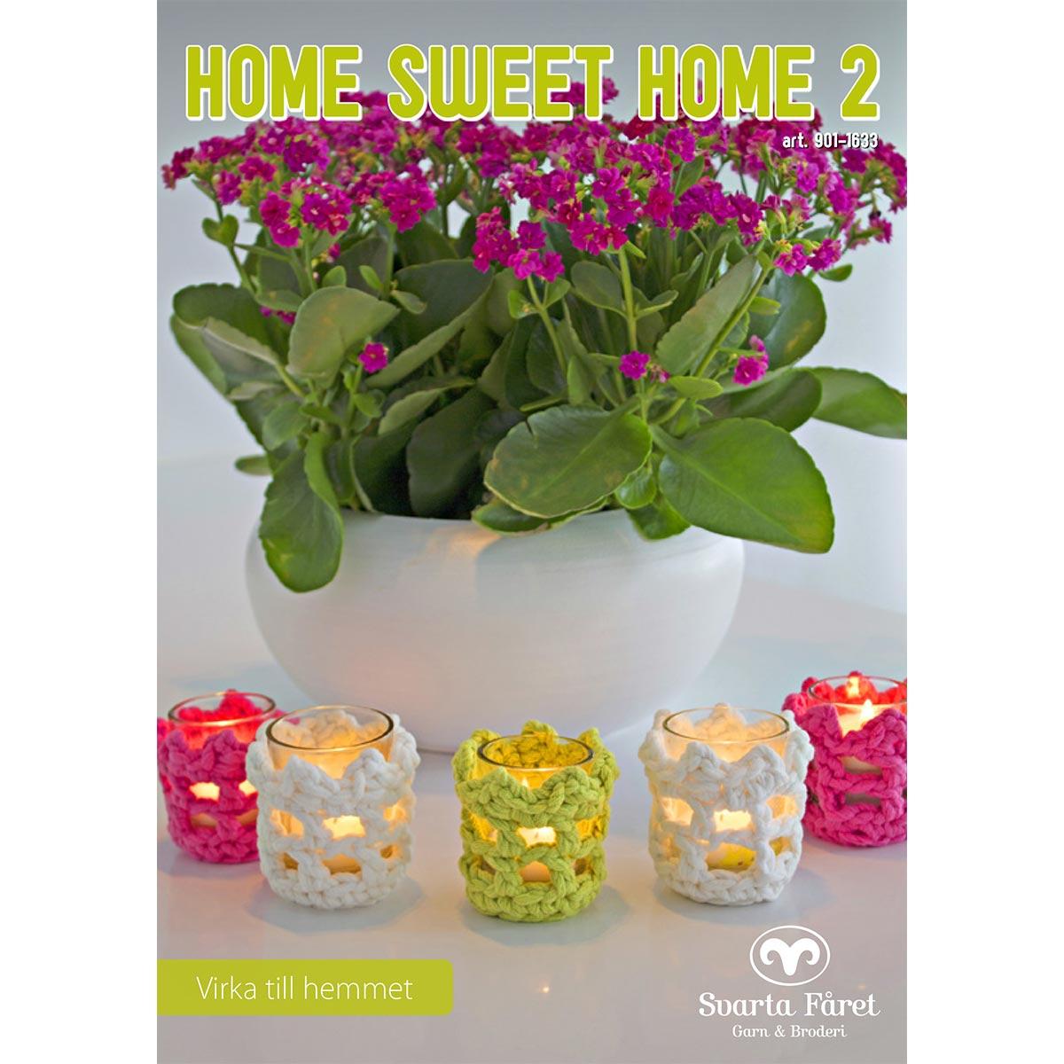 Image of   Svarta Fåret opskriftshæfte - Home Sweet Home 2 - Interiør til hjemmet
