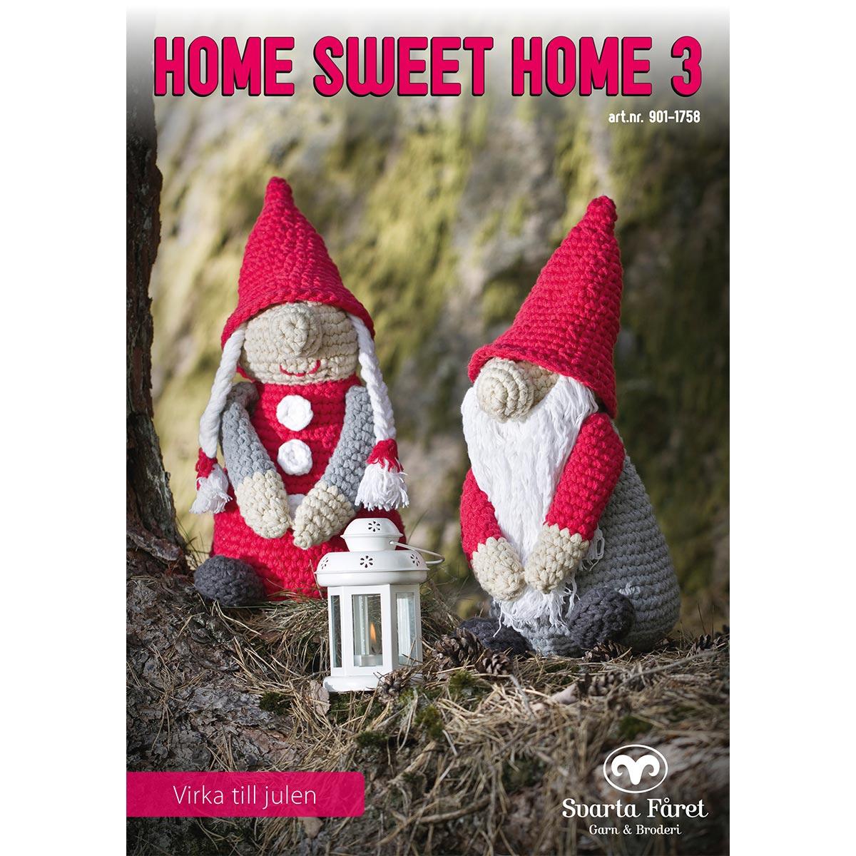 Image of   Svarta Fåret opskriftshæfte - Home Sweet Home 3 - Julepynt