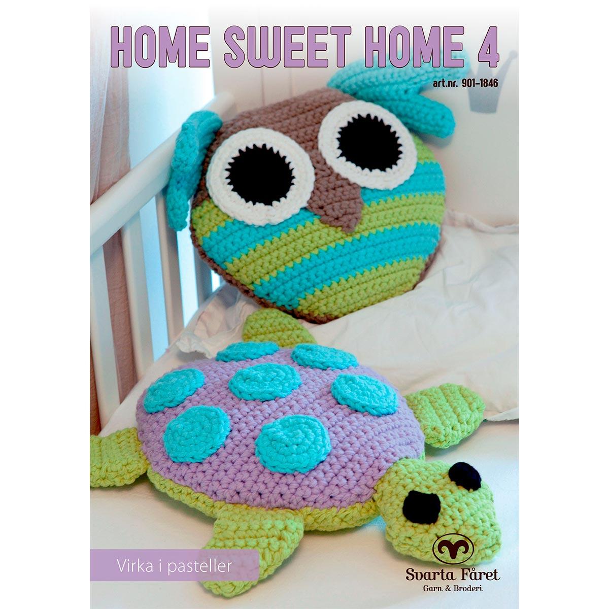 Image of   Svarta Fåret opskriftshæfte - Home Sweet Home 4 - Til børneværelset