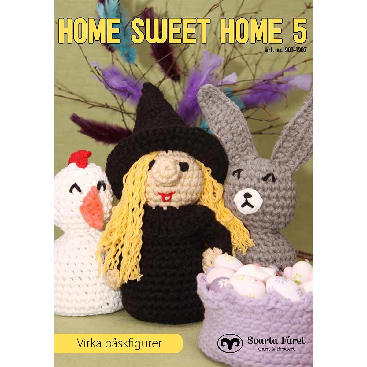 Image of   Svarta Fåret opskriftshæfte - Home Sweet Home 5 - Påskepynt