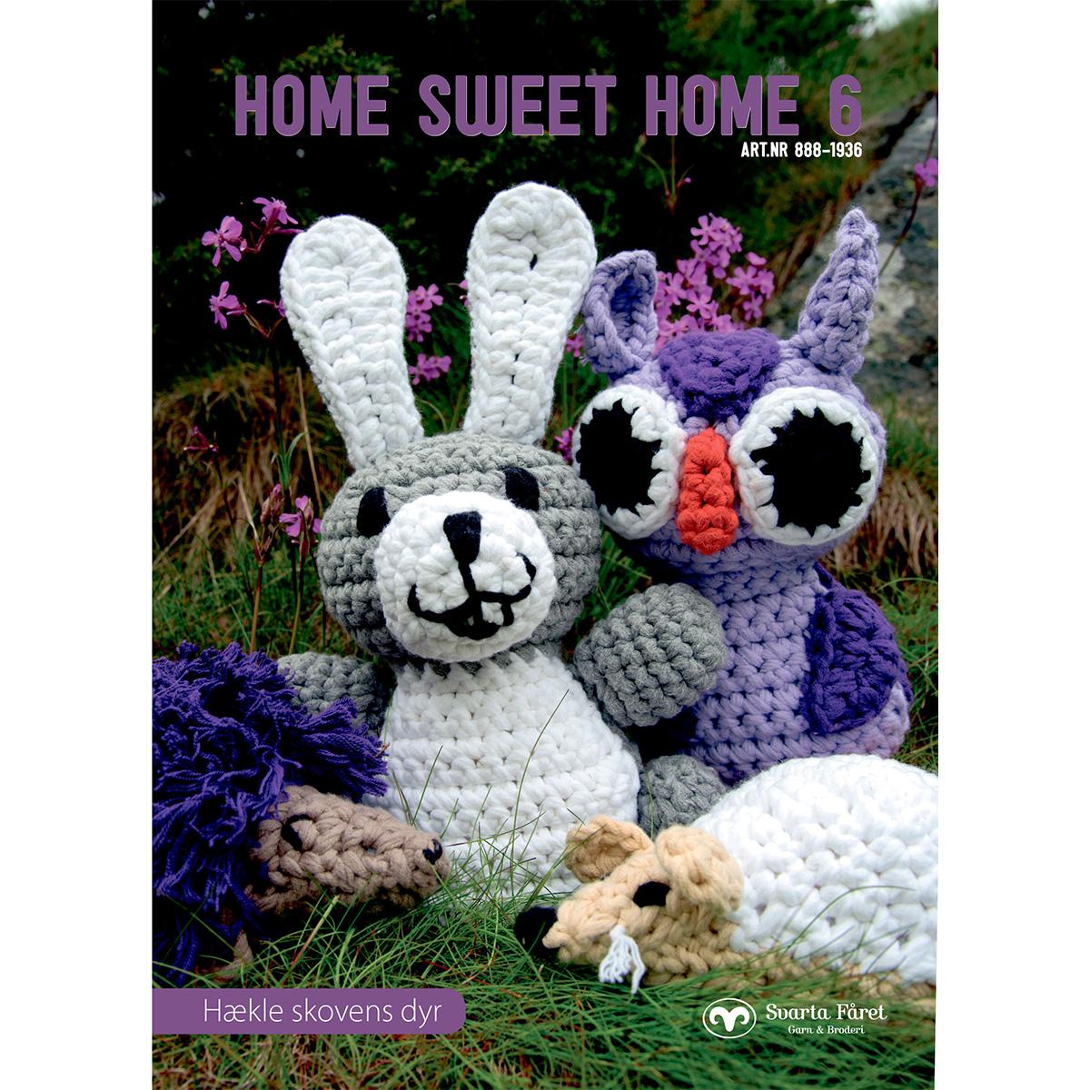 Image of   Svarta Fåret opskriftshæfte - Home Sweet Home 6 - Skovens dyr