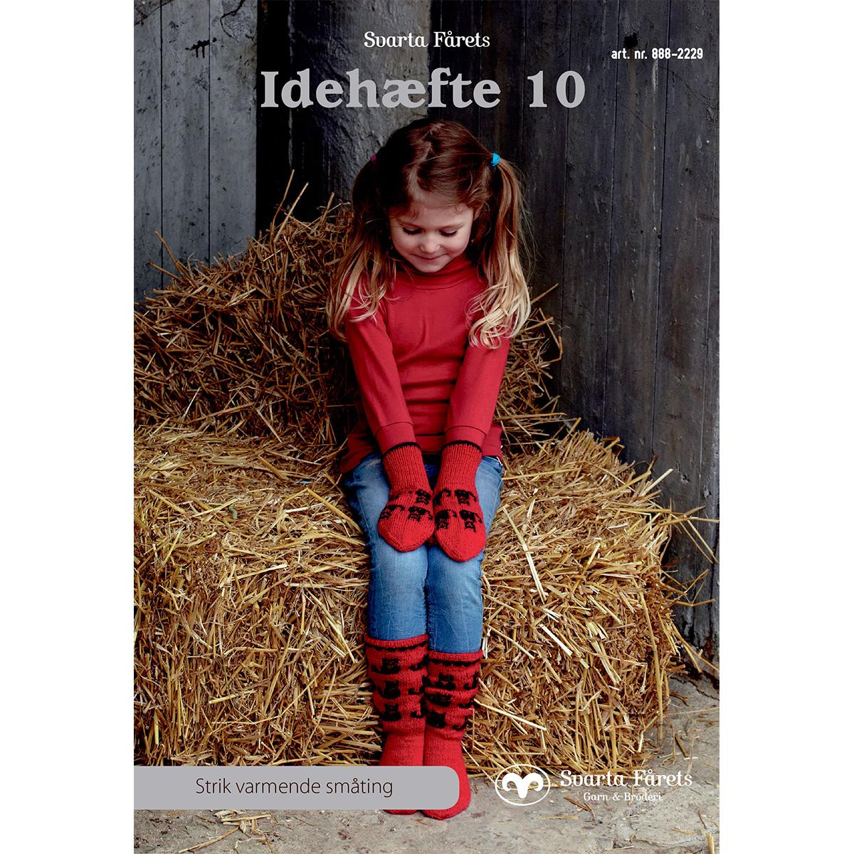 Image of   Svarta Fåret opskriftshæfte - Idehæfte 10 - Tøj til hele familien