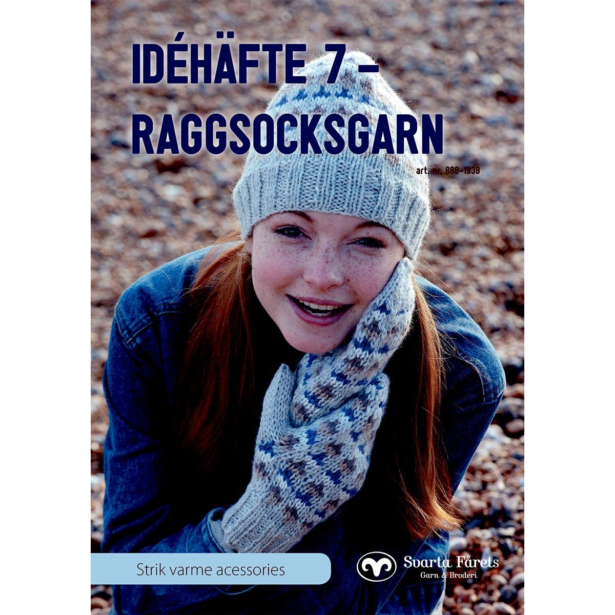 Image of   Svarta Fåret opskriftshæfte - Idehæfte 7 - Tøj til hele familien
