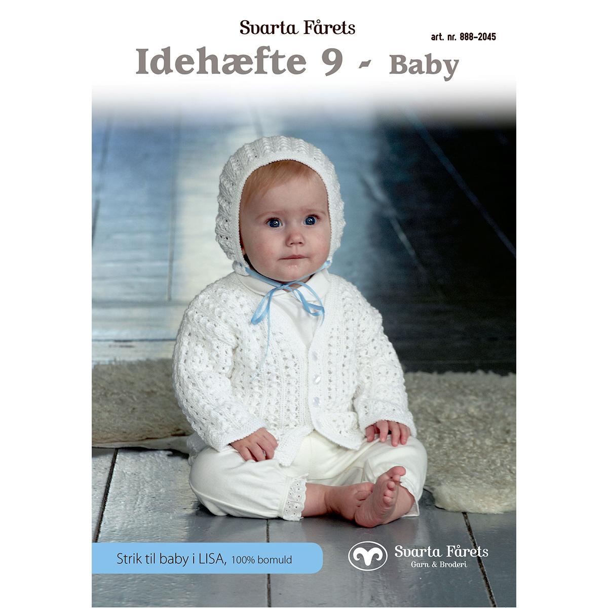 Image of   Svarta Fåret opskriftshæfte - Idehæfte nr. 9 - Babytøj