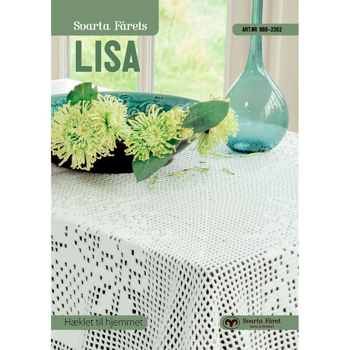 Image of   Svarta Fåret opskriftshæfte - Lisa - Interiør til hjemmet