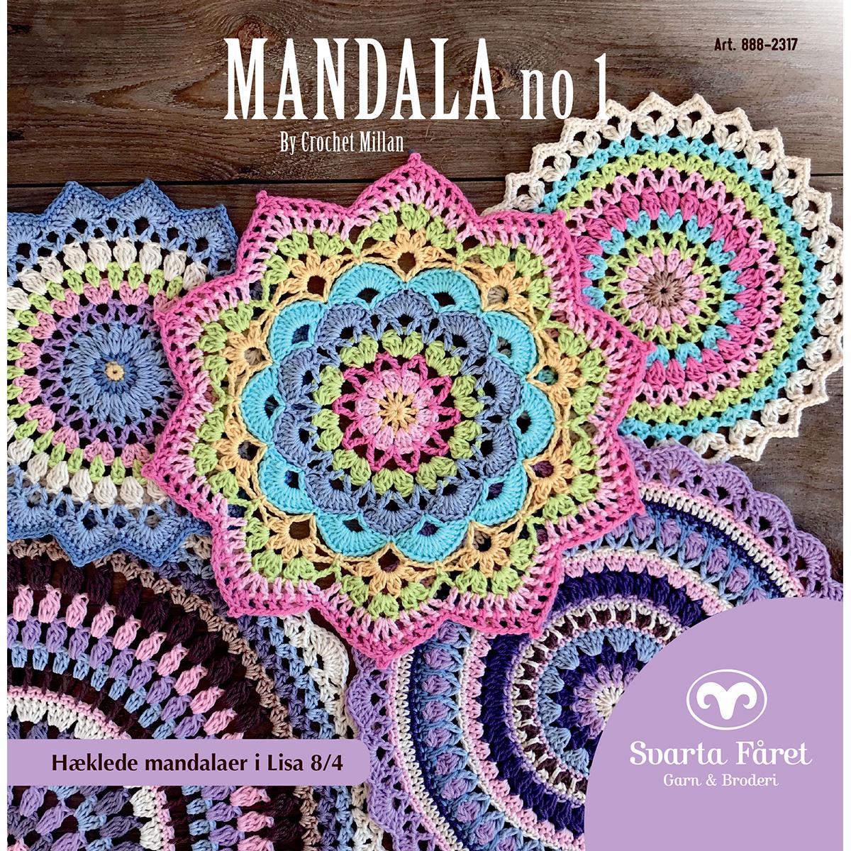 Image of   Svarta Fåret opskriftshæfte - Mandala nr. 1 - Interiør til hjemmet