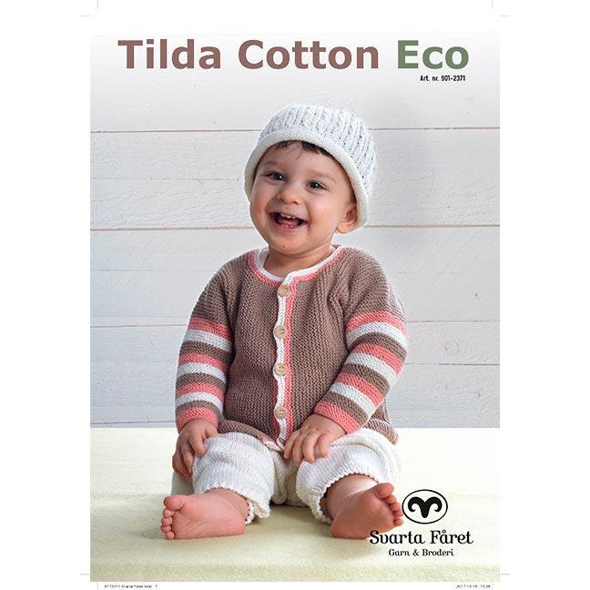 Image of   Svarta Fåret opskriftshæfte - Tilda Cotton Eco - Babytøj