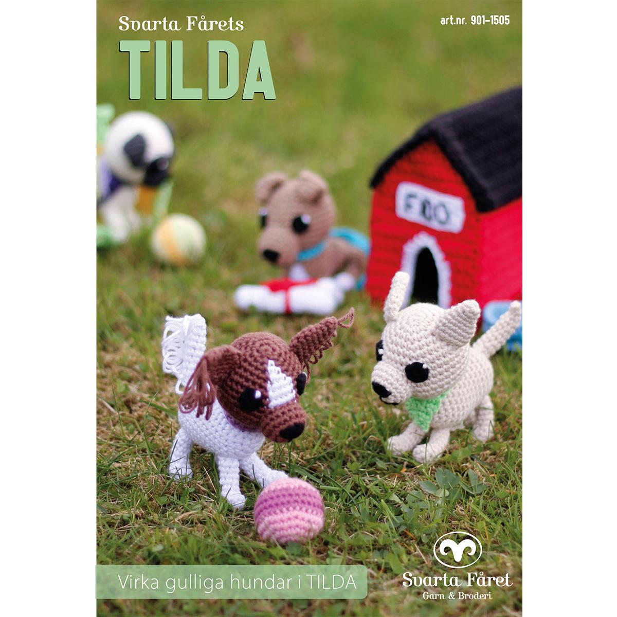 Image of   Svarta Fåret opskriftshæfte - Tilda - Hunde med tilbehør