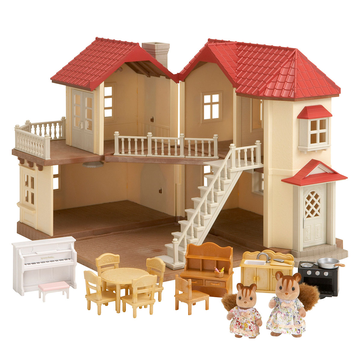 Image of   Sylvanian Families dukkehus - Egernly