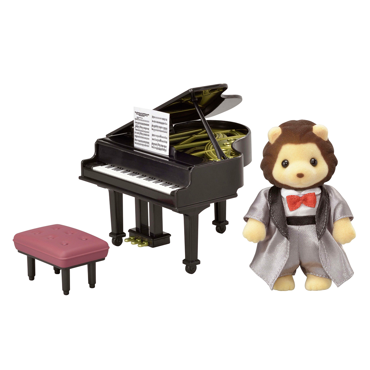 Image of   Sylvanian Families løve med piano