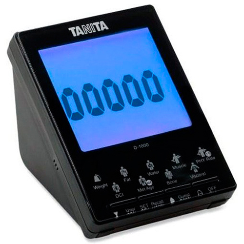 Tanita BC 1001 display