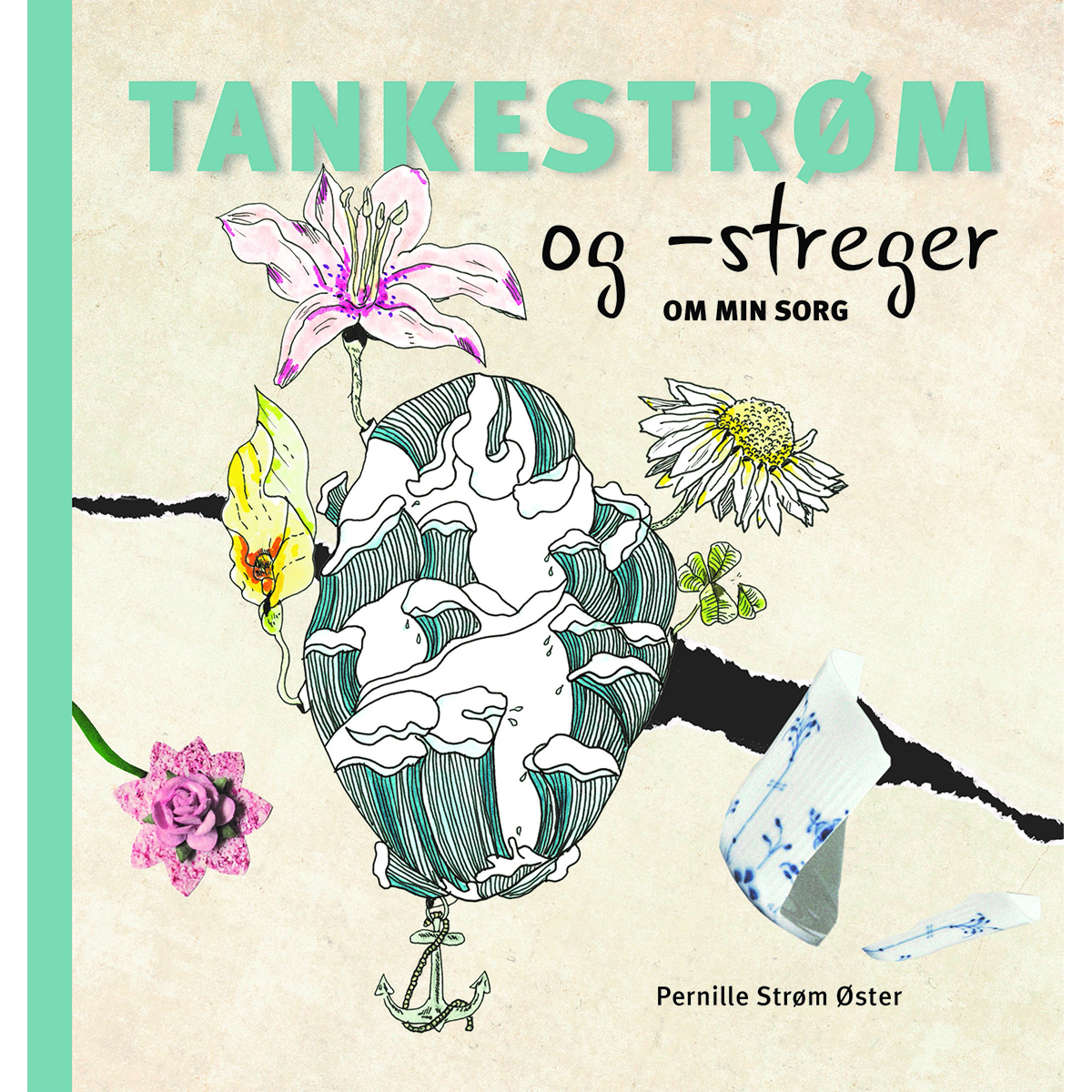 Image of   Tankestrøm og -streger - om min sorg - Hæftet