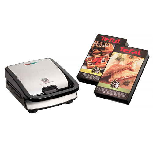 Tefal Snack Collection inkl. 2 plader 2-i-1 toaster og vaffeljern