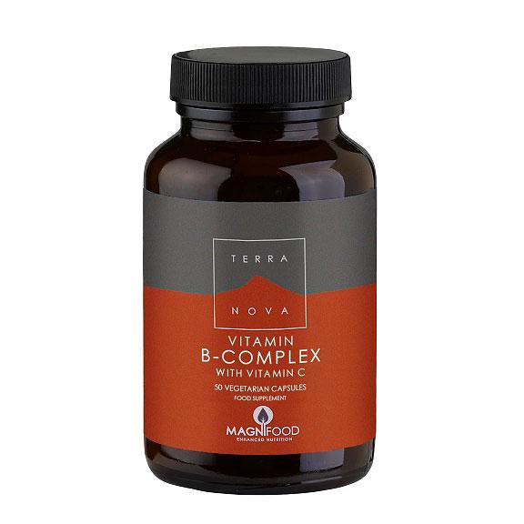 Billede af Terranova B-Complex med C-Vitamin - 50 stk