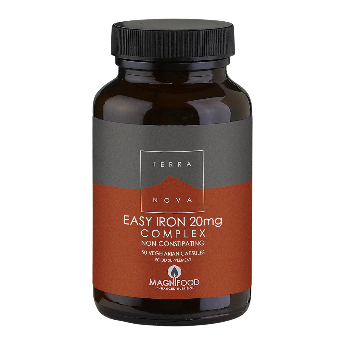 Billede af Terranova Easy Iron 20 mg Complex - 50 stk