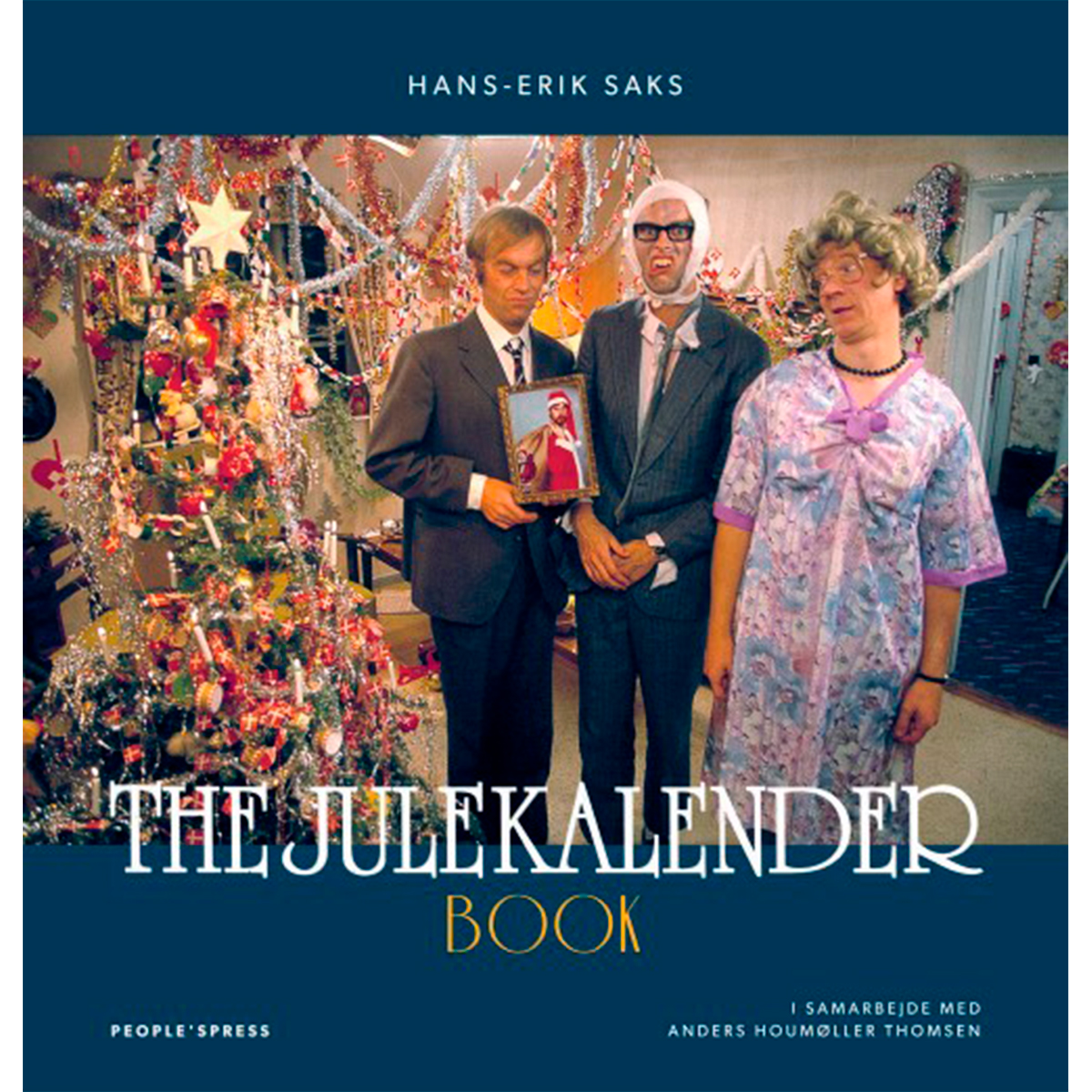 Image of   The julekalender book - Hæftet