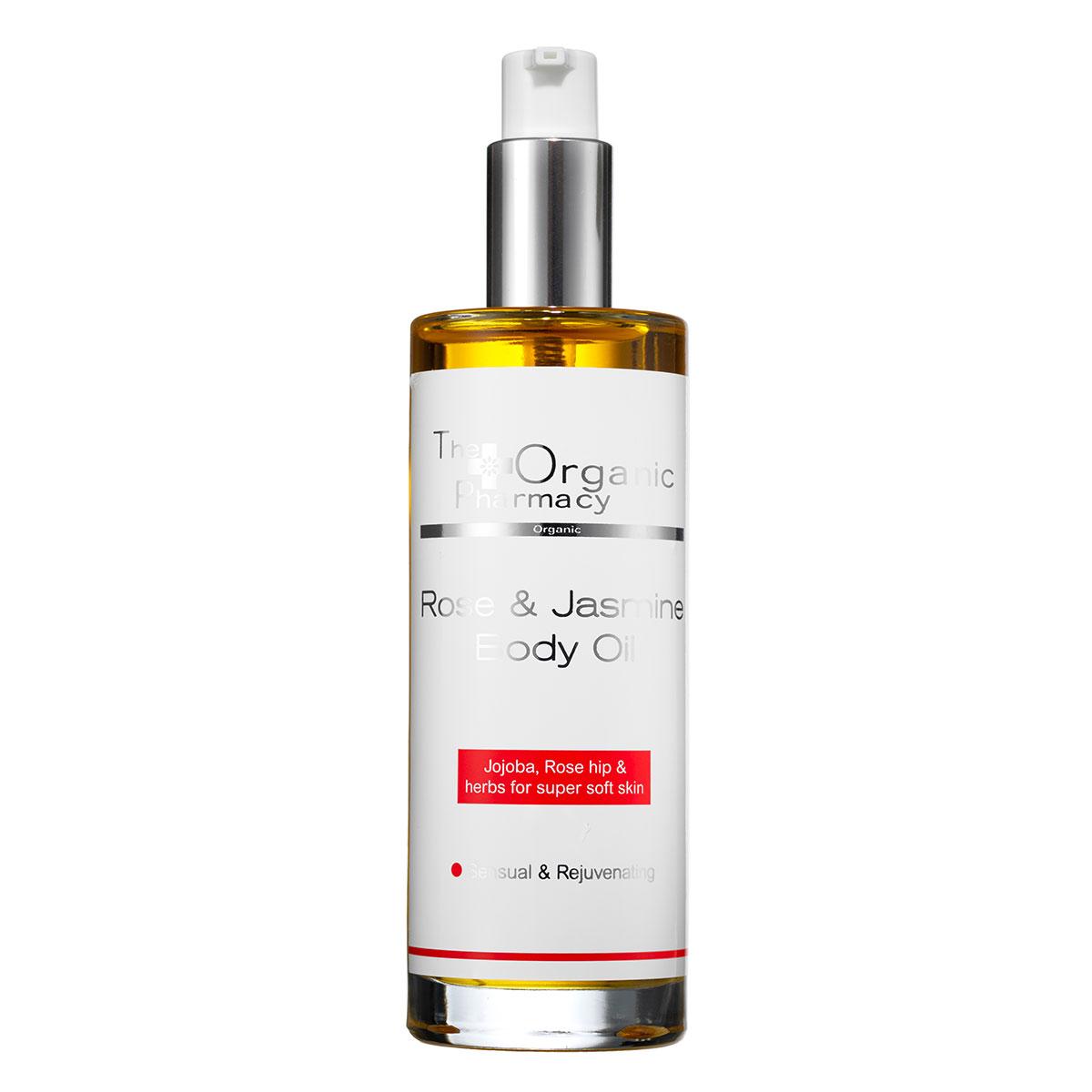 Billede af The Organic Pharmacy Rose & Jasmine Body Oil - 100 ml